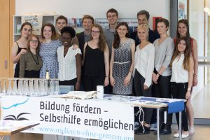"Unsere Lokalgruppe beim Benefizkonzert ""Fortissimo!"" am 10. Juni 2016"