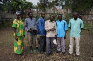 Projekt von Silas, Stipendiat des Mweso Stipendienprojekts
