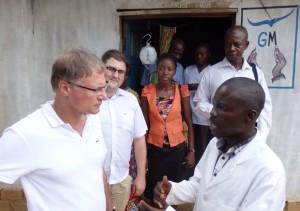 Botschafter Manig im Gespräch mit Dr. Amisi Bamavu