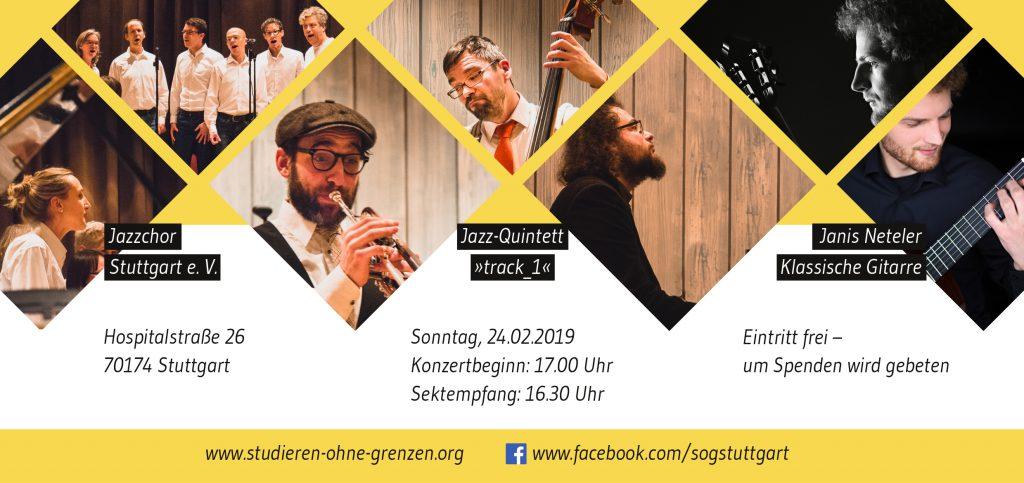 Stuttgart: Benefizkonzert am 24.02.2019