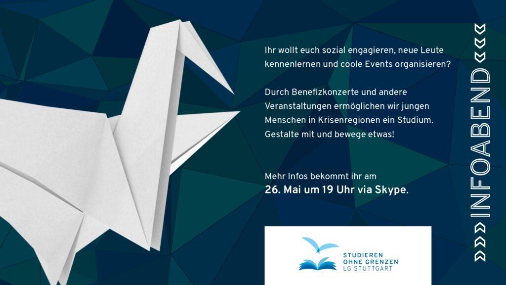 Infoabend in Stuttgart